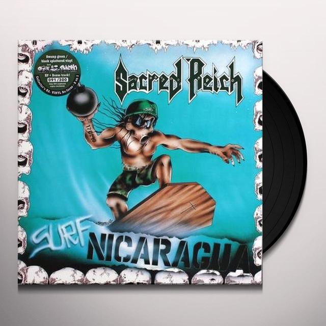 Sacred Reich SURF NICARAGUA+ALIVE AT THE DYNAMO (GER) Vinyl Record