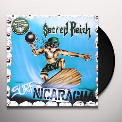 Sacred Reich SURF NICARAGUA+ALIVE AT THE DYNAMO Vinyl Record - UK Release