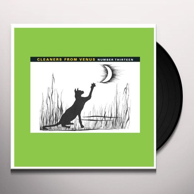 The Cleaners From Venus NUMBER THIRTEEN (GER) Vinyl Record