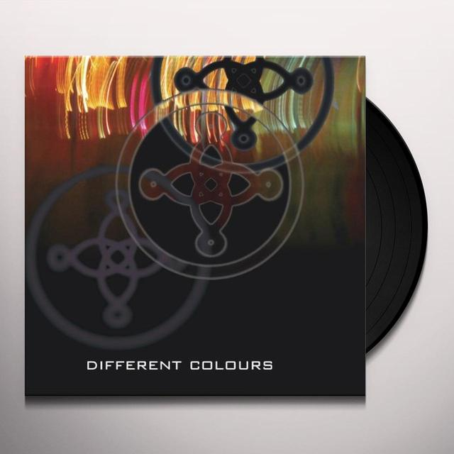 The Mission DIFFERENT COLOURS Vinyl Record