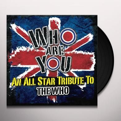 WHO: TRIBUTE TO BACK AGAINST THE WALL / VARIOUS Vinyl Record