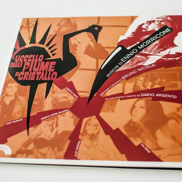 Ennio (Red) (Ltd) (Colv) Morricone L'UCCELLO DALLE PIUME DI CRISTALLO / O.S.T Vinyl Record