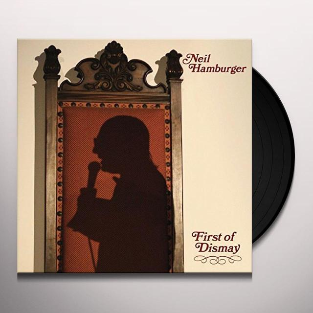 Neil Hamburger FIRST OF DISMAY Vinyl Record