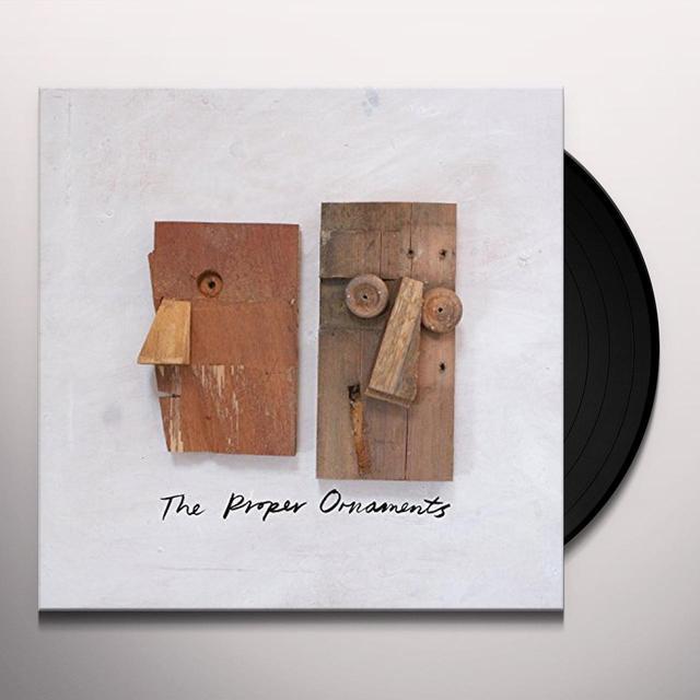 Proper Ornaments WOODEN HEAD Vinyl Record