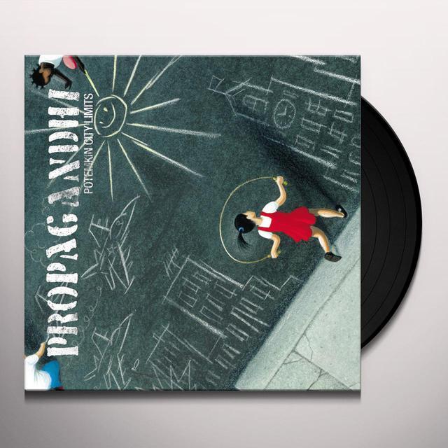 Propagandhi POTEMKIN CITY LIMITS Vinyl Record