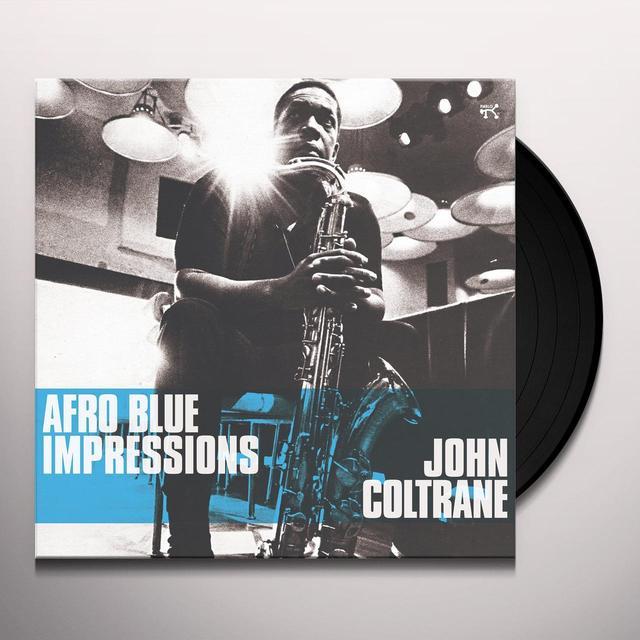 John Coltrane AFRO BLUE IMPRESSIONS Vinyl Record