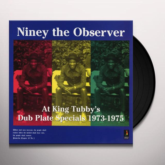 Niney The Observer AT KING TUBBYS Vinyl Record