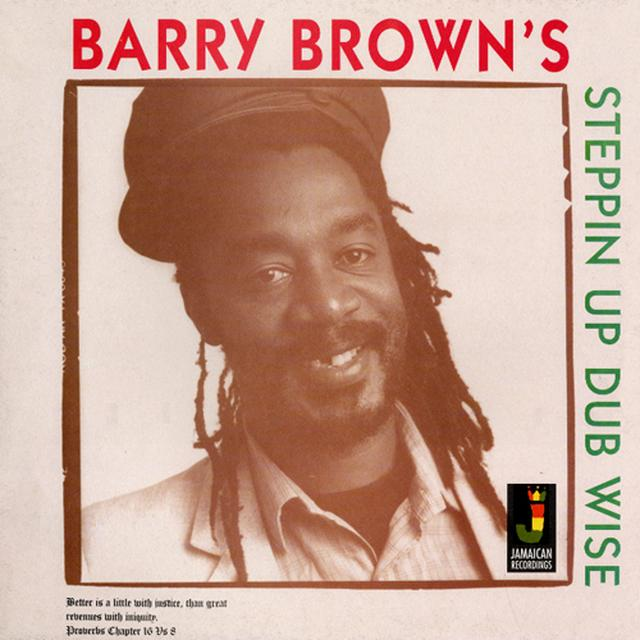 Barry Brown STEPPIN UP DUBWISE Vinyl Record - 180 Gram Pressing