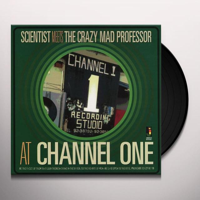 Scientist Meets The Crazy Mad Professor AT CHANNEL ONE Vinyl Record - 180 Gram Pressing
