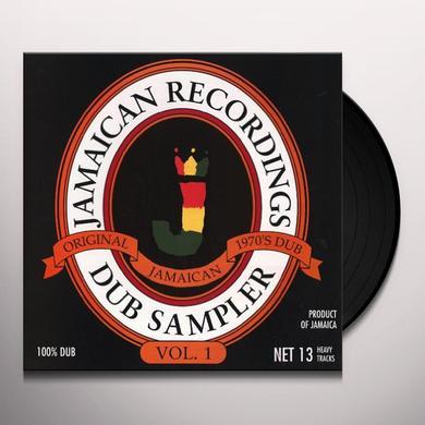 Jamaican Recordings Dub Sampler 1 / Various (Ogv) JAMAICAN RECORDINGS DUB SAMPLER 1 / VARIOUS Vinyl Record - 180 Gram Pressing