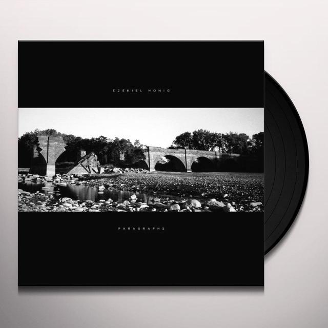 Ezekiel Honig PARAGRAPHS Vinyl Record