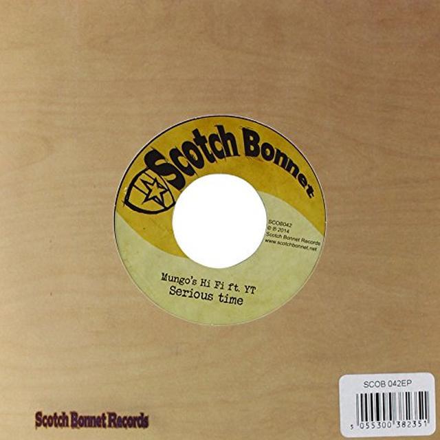 Mungo's Hi Fi SERIOUS TIME RIDDIM NO. 1 Vinyl Record