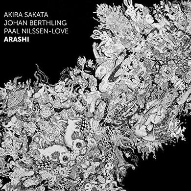 Akira Sakata / Johan Berthling ARASHI Vinyl Record