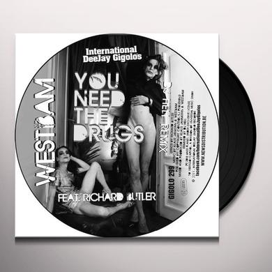 Westbam YOU NEED THE DRUGS (DJ HELL REMIX) Vinyl Record
