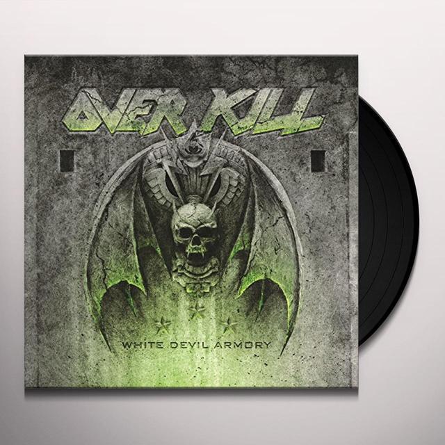 Overkill WHITE DEVIL ARMORY Vinyl Record - Holland Release