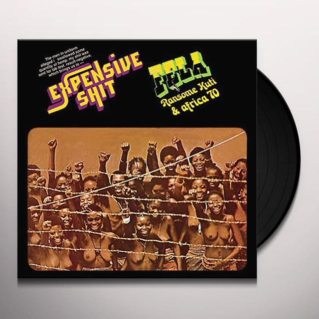 Fela Kuti EXPENSIVE SHIT Vinyl Record - UK Import