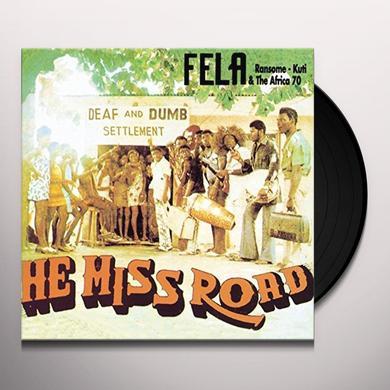 Fela Kuti HE MISS ROAD Vinyl Record - UK Import