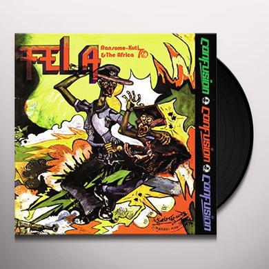 Fela Kuti CONFUSION Vinyl Record - UK Import