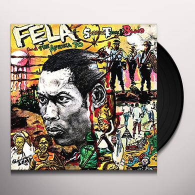 Fela Kuti SORROW TEARS & BLOOD Vinyl Record - UK Import