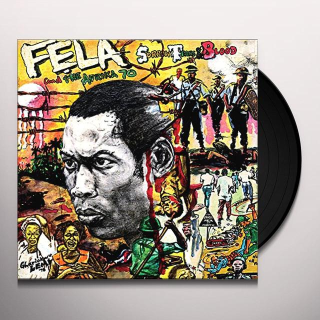 Fela Kuti SORROW TEARS & BLOOD Vinyl Record - UK Release