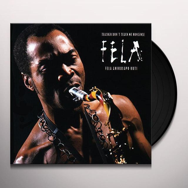 Fela Kuti TEACHER DON'T TEACH ME NONSENSE Vinyl Record
