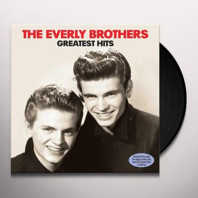 The Everly Brothers GREATEST HITS Vinyl Record - UK Import