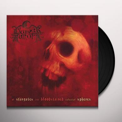 Lunar Aurora OF STARGATES & BLOODSTAINED Vinyl Record - UK Import