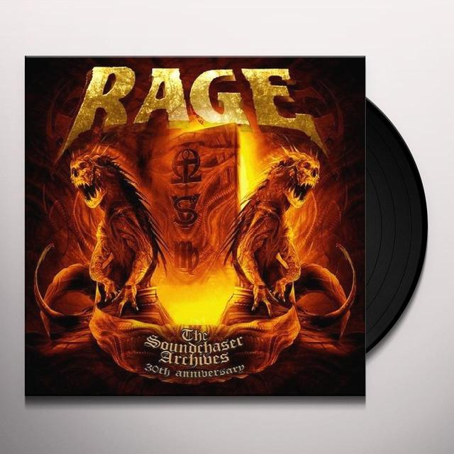 Rage SOUNDCHASER ARCHIVES BOXSET Vinyl Record - UK Import