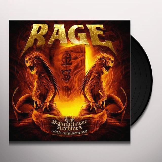 Rage SOUNDCHASER ARCHIVES BOXSET Vinyl Record - UK Import