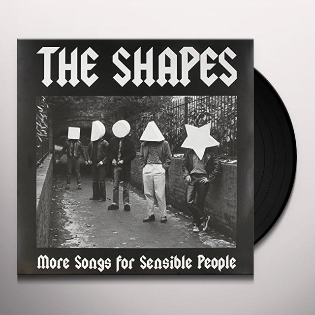 Shapes SONGS FOR SENSIBLE PEOPLE Vinyl Record - UK Import