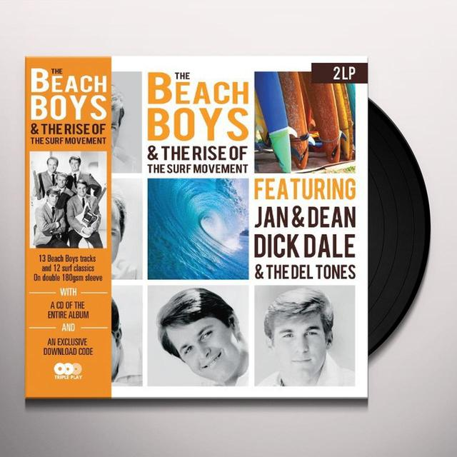 BEACH BOYS & THE RISE OF THE SURF MOVEMENT Vinyl Record