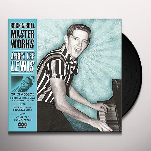 ROCK N ROLL MASTERWORKS-JERRY LEE LEWIS Vinyl Record - UK Release