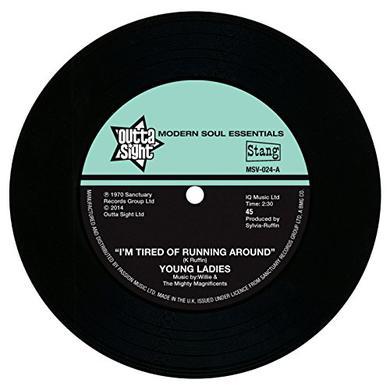 B.B.P. I'M TIRED OF RUNNING AROUND Vinyl Record