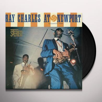 Ray Charles AT NEWPORT Vinyl Record - Holland Import