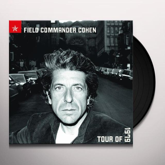 Leonard Cohen FIELD COMMANDER COHEN TOUR OF 1979 Vinyl Record - Holland Import