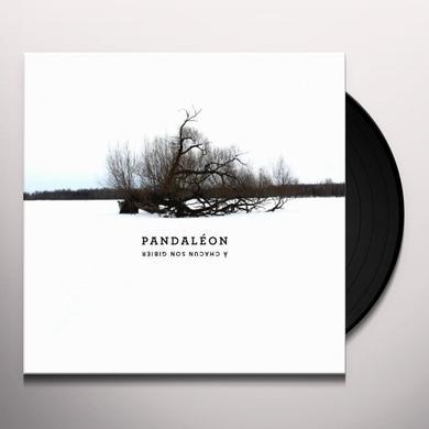 Pandaleon A CHACUN SON GIBIER Vinyl Record - Canada Release