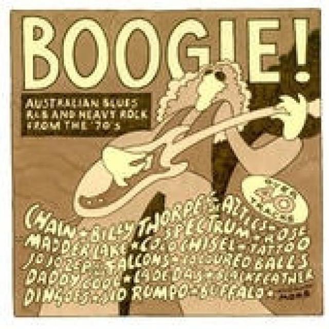 Boogie!-Australian Blues R&B / Various (Aus) BOOGIE!-AUSTRALIAN BLUES R&B / VARIOUS Vinyl Record