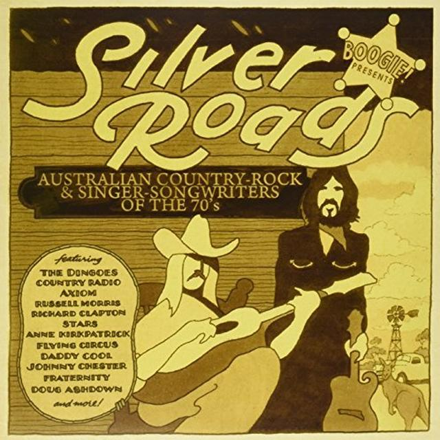 Boogie! Presents Silver Roads / Various (Aus) BOOGIE! PRESENTS SILVER ROADS / VARIOUS Vinyl Record - Australia Import