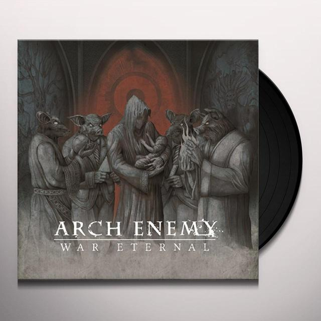 Arch Enemy WAR ETERNAL Vinyl Record - UK Import