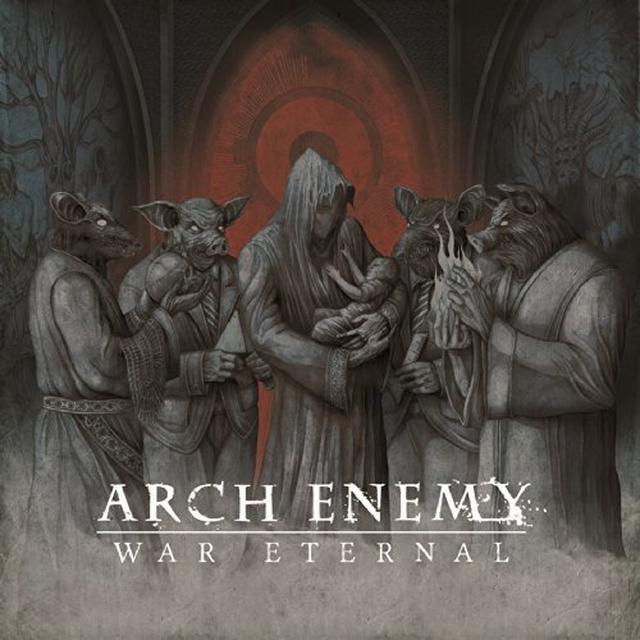 Arch Enemy WAR ETERNAL Vinyl Record - UK Import