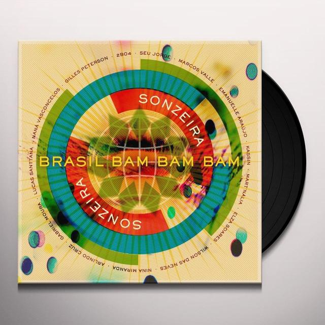 Sonzeira BRASIL 'BAM BAM BAM Vinyl Record - UK Release