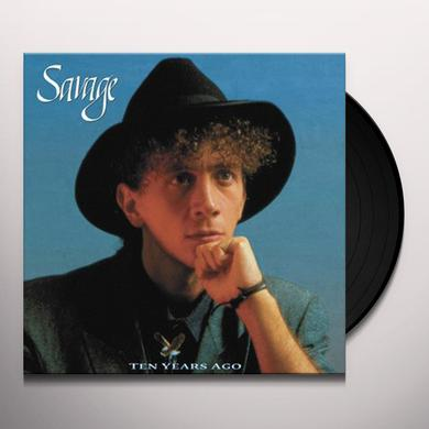 Savage TEN YEARS AGO (ULTIMATE EDITION) Vinyl Record - Italy Import