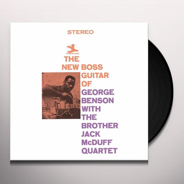 George / Brother Jack Mcduff Quartet Benson NEW BOSS GUITAR Vinyl Record