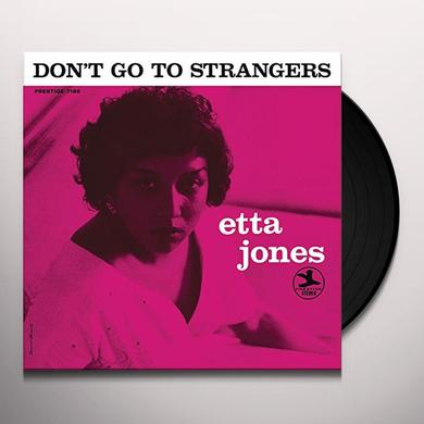 Etta Jones DON'T GO TO STRANGERS Vinyl Record