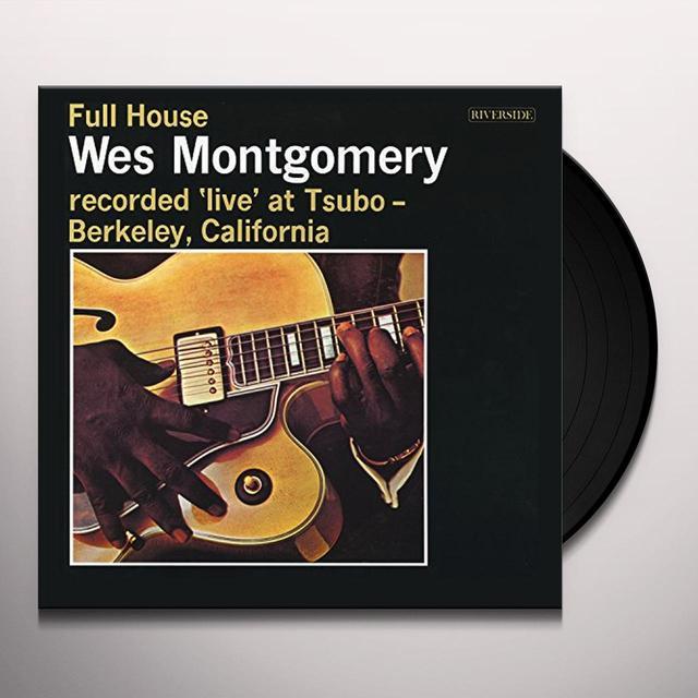 Wes Montgomery FULL HOUSE Vinyl Record