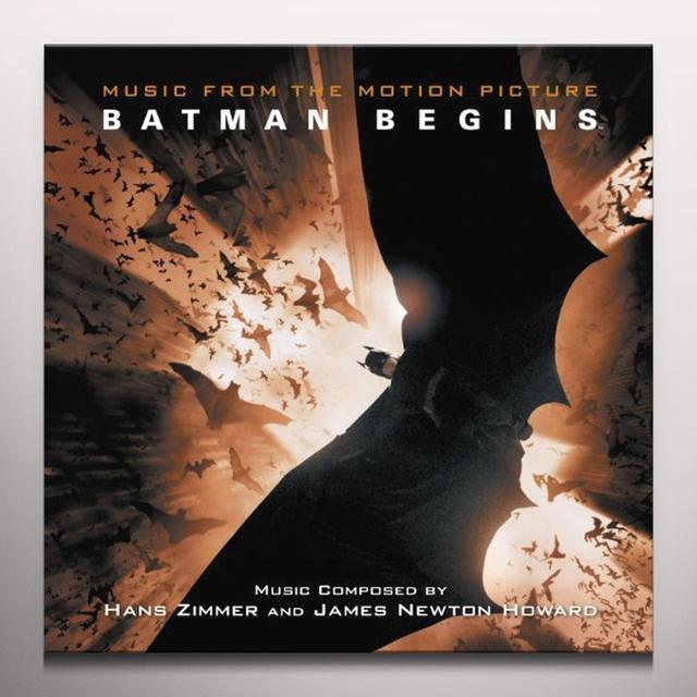 Batman Begins / O.S.T. (Gate) (Org) (Ltd) BATMAN BEGINS / O.S.T. Vinyl Record - Gatefold Sleeve, Limited Edition, Orange Vinyl