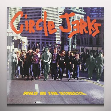 Circle Jerks WILD IN THE STREETS Vinyl Record - Limited Edition, Red Vinyl