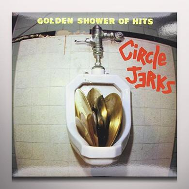 Circle Jerks GOLDEN SHOWER OF HITS Vinyl Record - Limited Edition, Yellow Vinyl