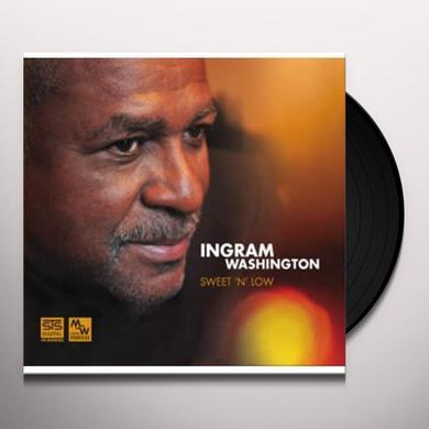 Ingram Washington SWEET N LOW Vinyl Record - 180 Gram Pressing
