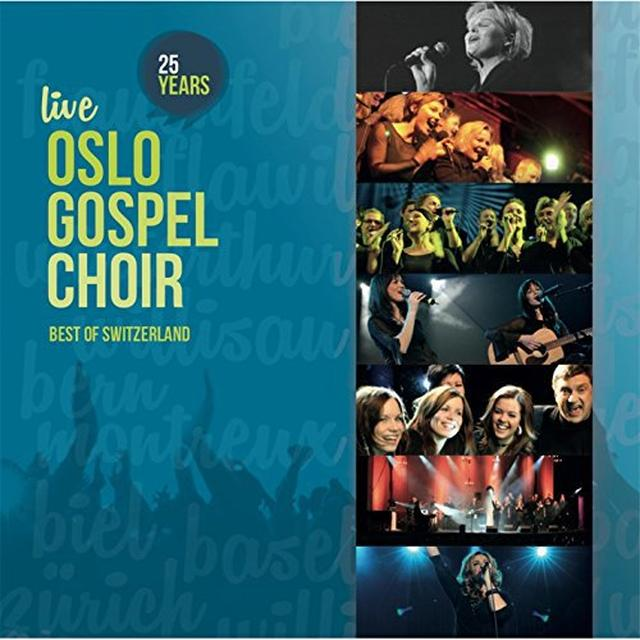 Oslo Gospel Choir 25 YEARS LIVE Vinyl Record
